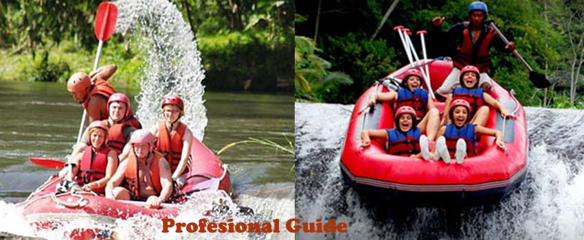 profesional rafting guide